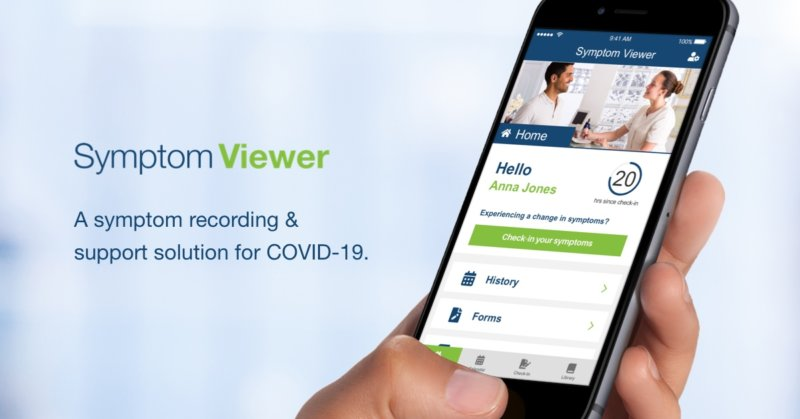 Symptom Viewer: A symptom recording & support solution for COVID-19
